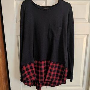 Plus size forever 21 sweatshirt